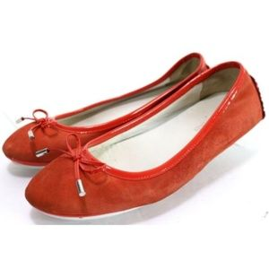 Donald J Pliner Riki Women's Flats Size 7.5 Red